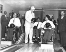 President Truman at Inaugural BVL Tournament